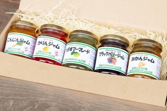 道の駅でも人気!東京・八王子から四季の彩りをお届け「農家の手作りジャム工房 冬春5本セット」