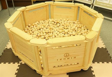 檜のおもちゃ IKONIH ヒノキボール(球)