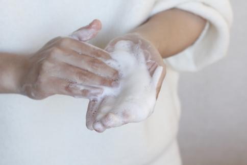 甘酒の美容石けん[アルガンオイル配合](泡立てネット付き)【マイスター手作り】