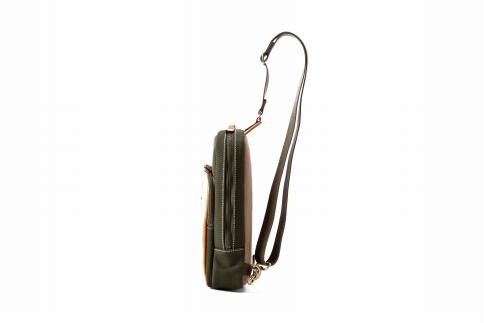 ボディバッグ 豊岡鞄 2302 カーキ