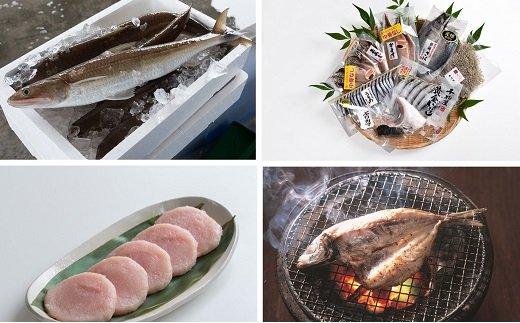 さいき自慢の海の幸セット!「さいき自慢」魚の開き、丸干しの干物セット+新鮮な生魚だけ使用!産地直送!!早川のすり身