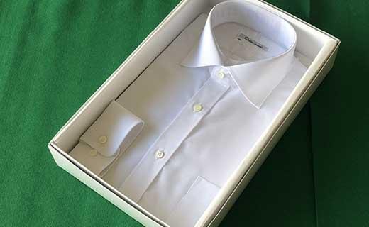 オーダーワイシャツT-奈良県川西町産「高瀬貝」を使用-