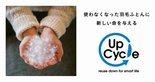 【エコな羽毛】コンパクトマット/ペタル【アップサイクルダウン】