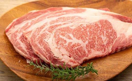 あか牛ロースステーキセット(リブロース約230g×2枚)
