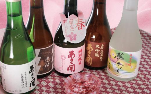 ★楽天年間日本酒10年連続第1位★日本酒5種類飲み比べセット300ml×5本