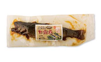<山椒の実入り>イワナ、ヤマメ、ニジマスの甘露煮詰合せ5本入