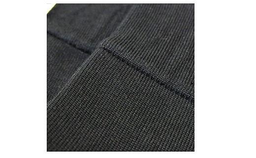 《絹生活研究所》内側シルク靴下2足セット(レディースM)