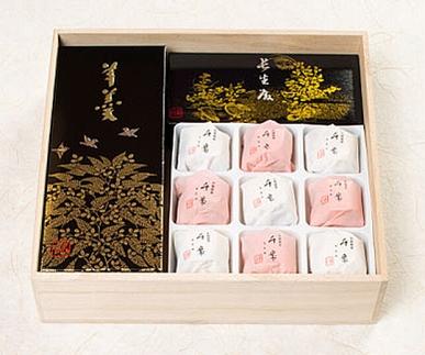 金沢大和百貨店選定〈森八〉三絶菓
