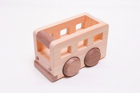 檜のおもちゃ IKONIHアイコニー オルゴールバス