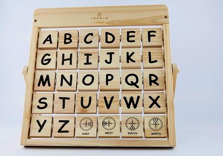 檜のおもちゃ IKONIHアイコニー アルファベット