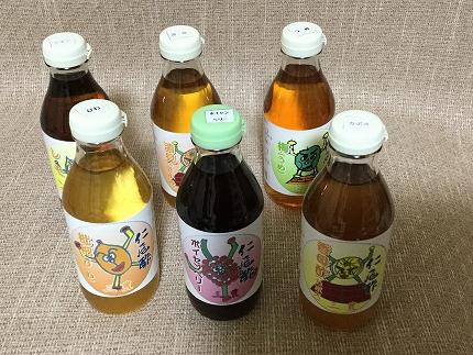 フルーツ王国三豊の「フルーツDE酢」6本詰合せ