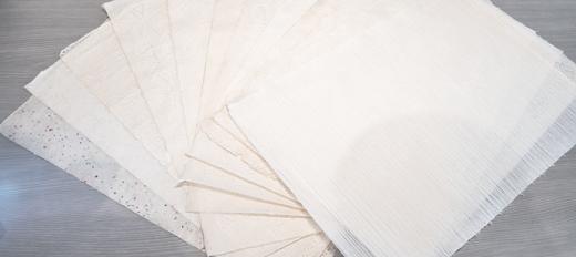 【二俣和紙】手漉き和紙12枚セット