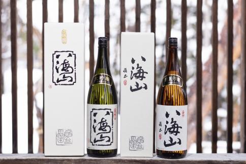 八海山純米吟醸・大吟醸詰合せ1800ml