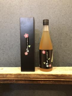 八海山の原酒で仕込んだ「うめ酒」四合瓶(720ml)