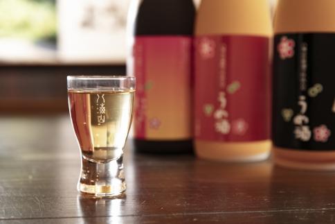 八海山の焼酎で仕込んだ「うめ酒」四合瓶3本セット