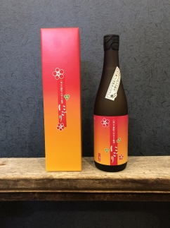 八海山の焼酎で仕込んだ「にごりうめ酒」四合瓶(720ml)