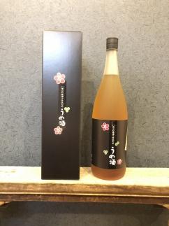 八海山の原酒で仕込んだ「うめ酒」一升瓶(1800ml)
