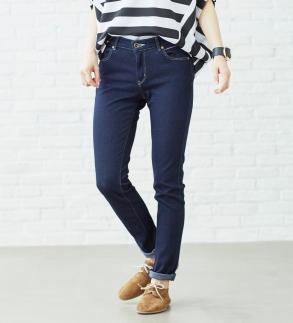 (ER166L-100-XS)新感覚!スゴーイ楽なジャージみたいなジーンズ 「ジャージーズスリムスキニー」
