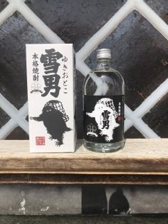 雪国のお酒「鶴齢」本格焼酎「雪男」720ml×3本