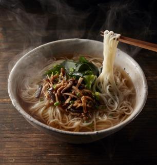 『島原・雲仙特産』手延べ麺(即席タイプ)具材付き詰め合せ 特別セットB