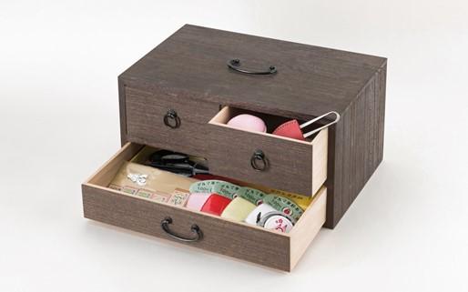 【加賀毛針】裁縫箱
