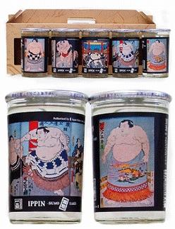 ◇人気のワンカップ◇一品《相撲錦絵》10本セット