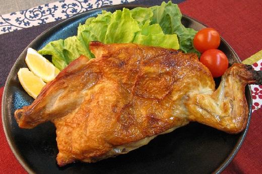 若鶏の半身焼き