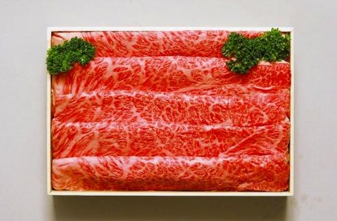 BM098佐藤牛肉店山形牛すき焼き用500g