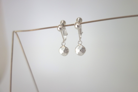 【金工】シンプルなイヤリング