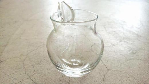 【ガラス】銀箔片口