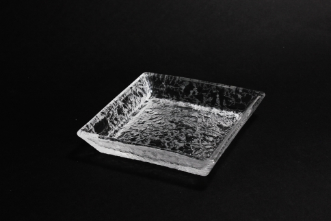 【ガラス】SKIN・角小皿