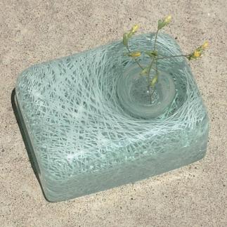 【ガラス】氷線一輪挿し
