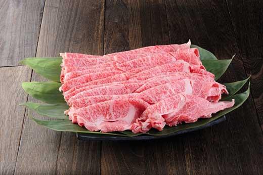近江牛ロースすき焼きしゃぶしゃぶ用1kg
