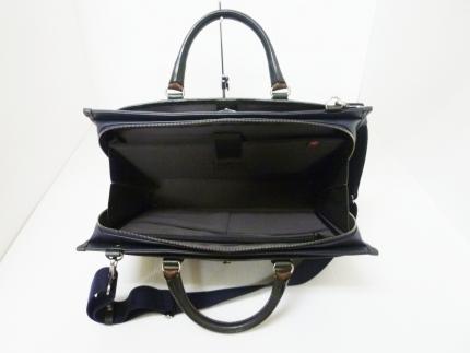 ビジネス豊岡鞄craftsmanship3方OP(ネイビー)