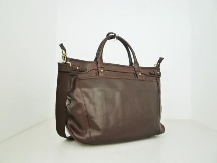 ビジネス豊岡鞄皮革ビジネストート(チョコ)