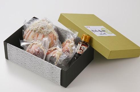 【数量限定100】松葉ガニ&セコ蟹の甲羅盛り夫婦宝船(めおとたからぶね)セット大サイズ