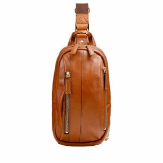 豊岡鞄 皮革ワンショルダー(ブラウン)