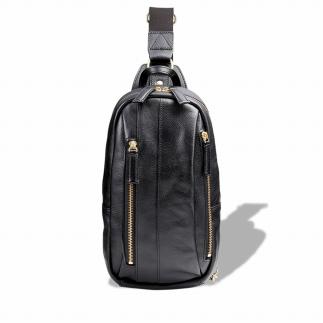 豊岡鞄 皮革ワンショルダー(ブラック)