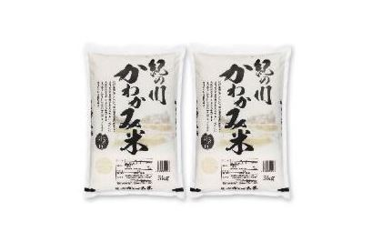 紀の川かわかみ米(5kg×2袋)【白米】