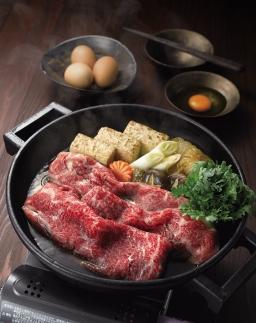 ST07-20博多和牛すき焼きしゃぶ用ローススライス(400g)