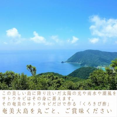 長期熟成 島の宝 くろきび酢 700mlー1本