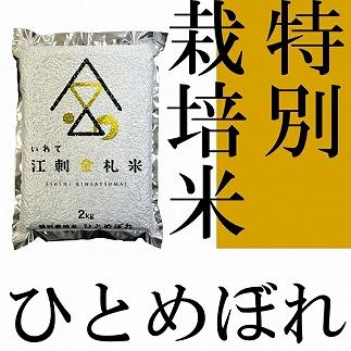 【令和元年産】江刺金札米ひとめぼれパック米2kg×5袋