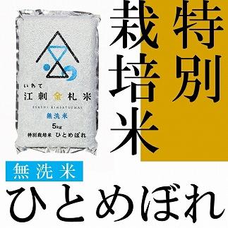 【令和元年産】江刺金札米ひとめぼれ無洗パック米5kg