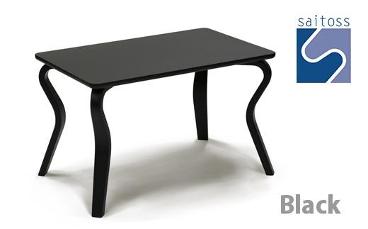 C010村澤一晃氏デザイン「リビングテーブル」ブラック・ブナ材使用