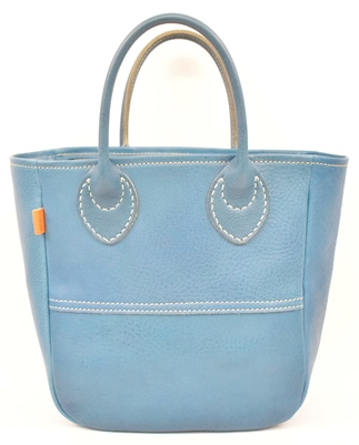 minca/Tote bag 03/S/BLUE