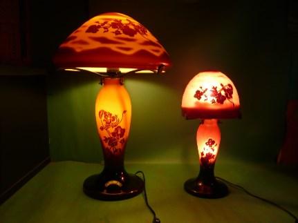 【限定1品】ランプシェードセット(fancy-flowerとpretty-lamp)