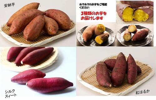 大崎町産 芋ざんまい 3種詰合せセット 【先行予約】(約8kg)