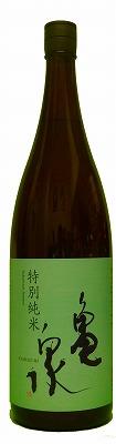 亀泉特別純米酒1800mL