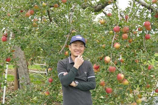 [2019年10月上中旬~発送予定]農園主厳選「秋映」 信濃大町・峯村農園のりんご