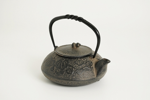 南部鉄器 鉄瓶 ひさご (茶こし付き)